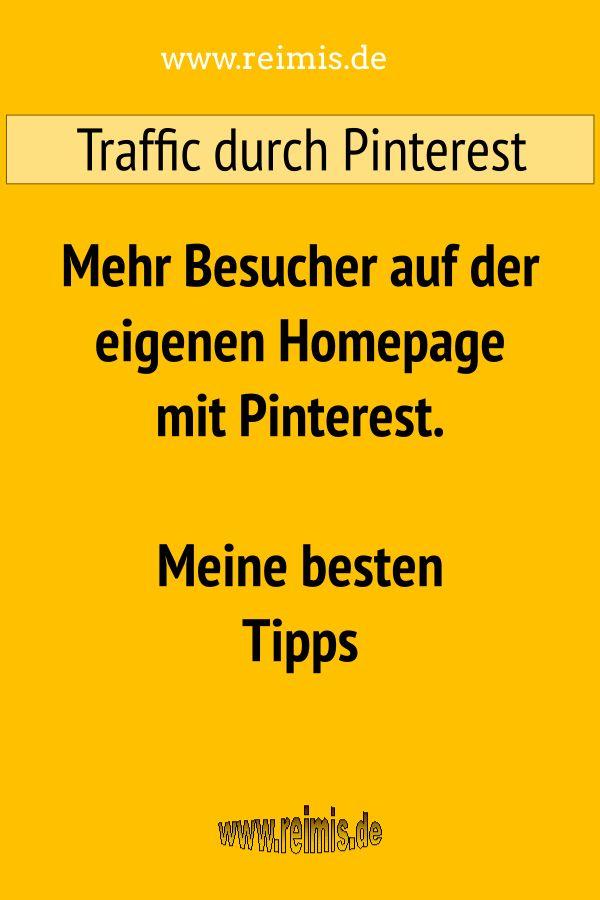 Besucher durch Pinterest
